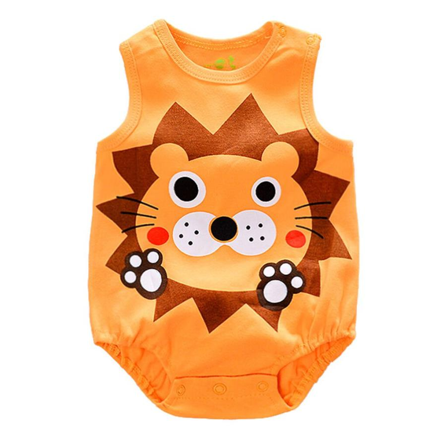 Romper 2017 Fashion Newborn Infant Baby Boy Girl Cartoon Cute Romper Cute Jumpsuit Climbing Clothes D40 puseky 2017 infant romper baby boys girls jumpsuit newborn bebe clothing hooded toddler baby clothes cute panda romper costumes