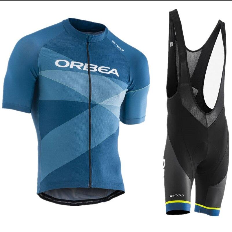 cbd0d854c 2017 new pro team ORBEA cycling jersey sets MTB Bike Clothing men s Summer  quick dry racing