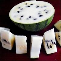 10 pcs Seeds Rare White Watermelon Seeds Super Big Water Melon Seeds for Home & Garden