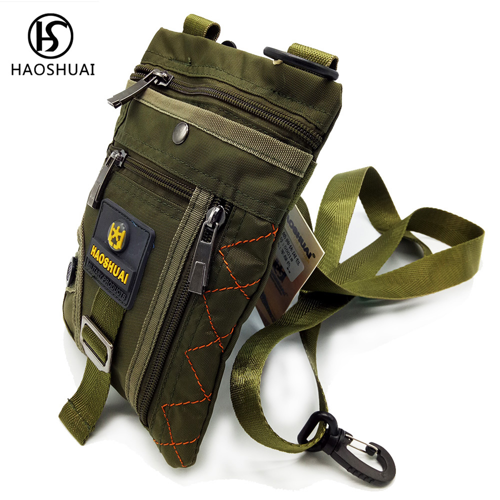 Men Mini Crossbody Phone Bag Nylon Waterproof Casual Bag Brand Crossbody Messenger Bag Small New camo print nylon crossbody bag