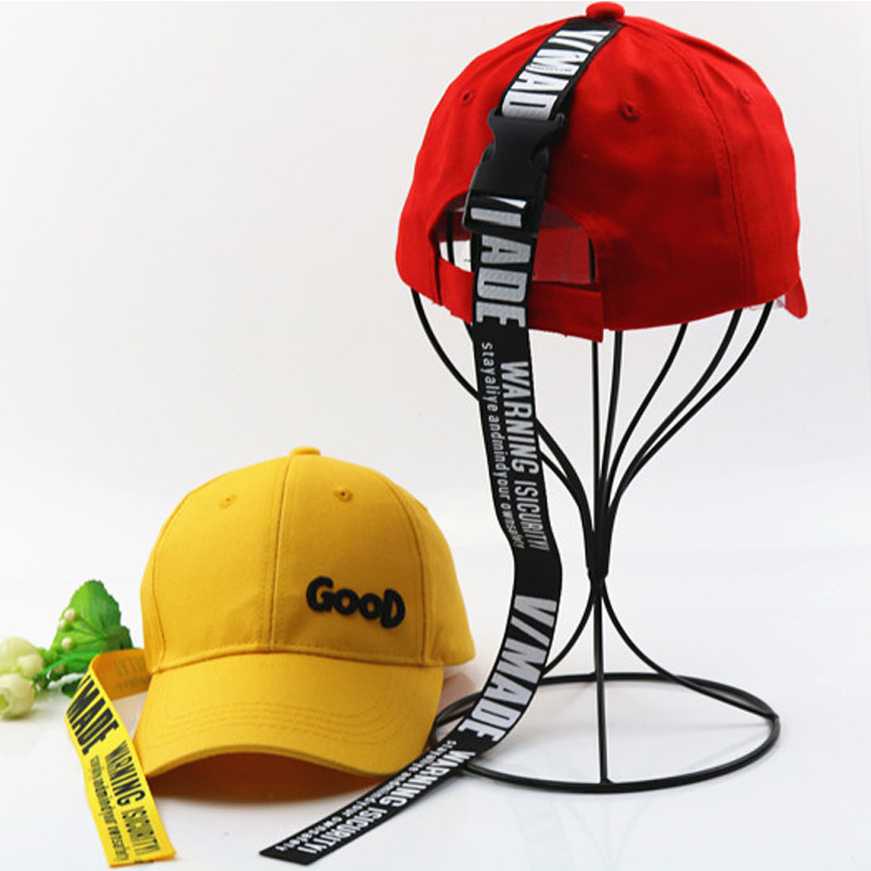 New Fashion Children Good Baseball Caps With Band Detachable Street Dance Cap Boys And Girls Personality Bend Along Hip Hop Hat in Men 39 s Baseball Caps from Apparel Accessories