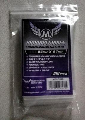 5 упаковок/лот Mayday карточная игра рукав для 56*87 мм карта протектор BANG MUNCHKIN Чехол-рукав для настольной игры 7040