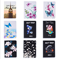 Fashion Flower Cartoon Animal Elephant Leather Stand Flip Smart Case for Samsung Galaxy Tab S2 8.0 T710 T715 Tablet Book Cover #