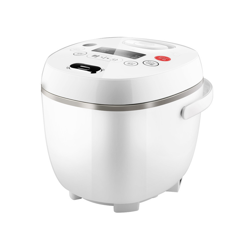 Rice Cooker Electric Lunch Box Rice Cooker Soup Pot Steamed Rice Pot Small Smart Booking Insulation Non-stick Pan 2L Capacity