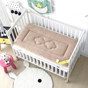 Bed-Sheet Mattress Bedding Baby Bed Newborn Winter And Cot-Pad Velvet Warm Soft Fashion