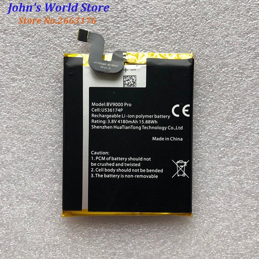 100% New Original Bv9000 4180mah Battery For Blackview Bv9000 Pro Bv9000pro Smart Mobile Phone Li-ion Battery