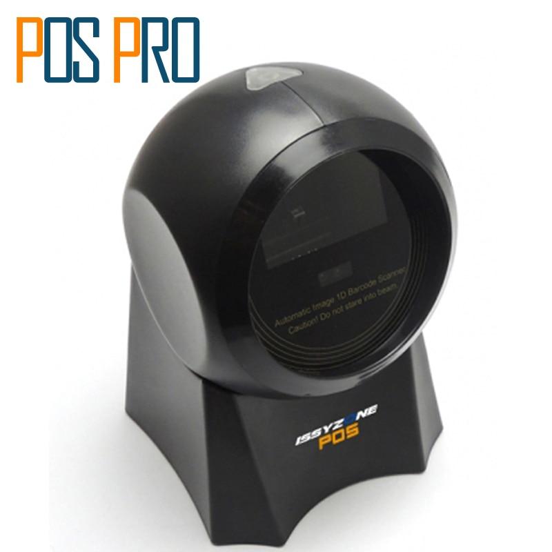 IOBC003 Auto Sensor 1D CCD Omnidirectional handsfree desktop barcode scanner adopt CMOS technology can read 1D/Screen barcode structure sensor 3d scanner