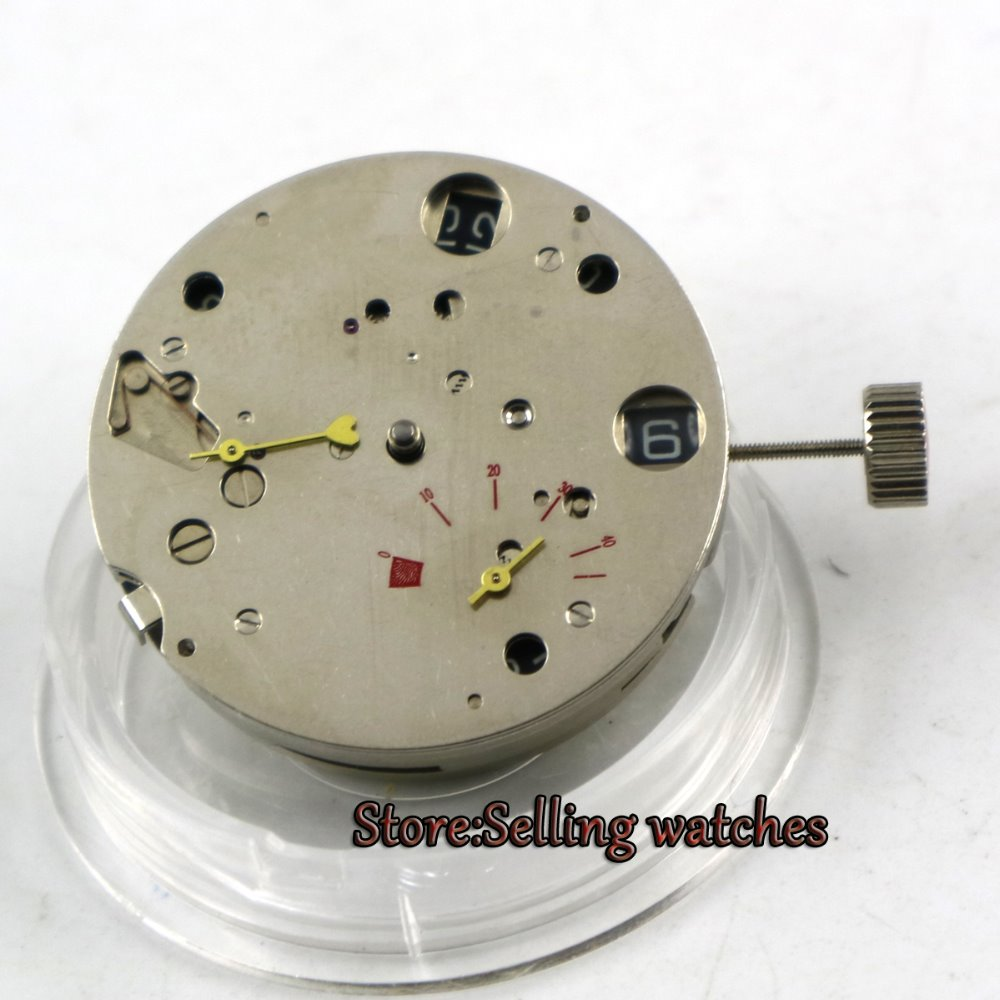 New sea gull 2530 Mechanical power reserve date window fit automatic movement Men s watch movement