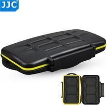 JJC MC-XQD6 Water-resistant Anti-shock XQD Card Holder Camera Memory Card Bag Case Storage Protector Cover For 6 XQD Cards