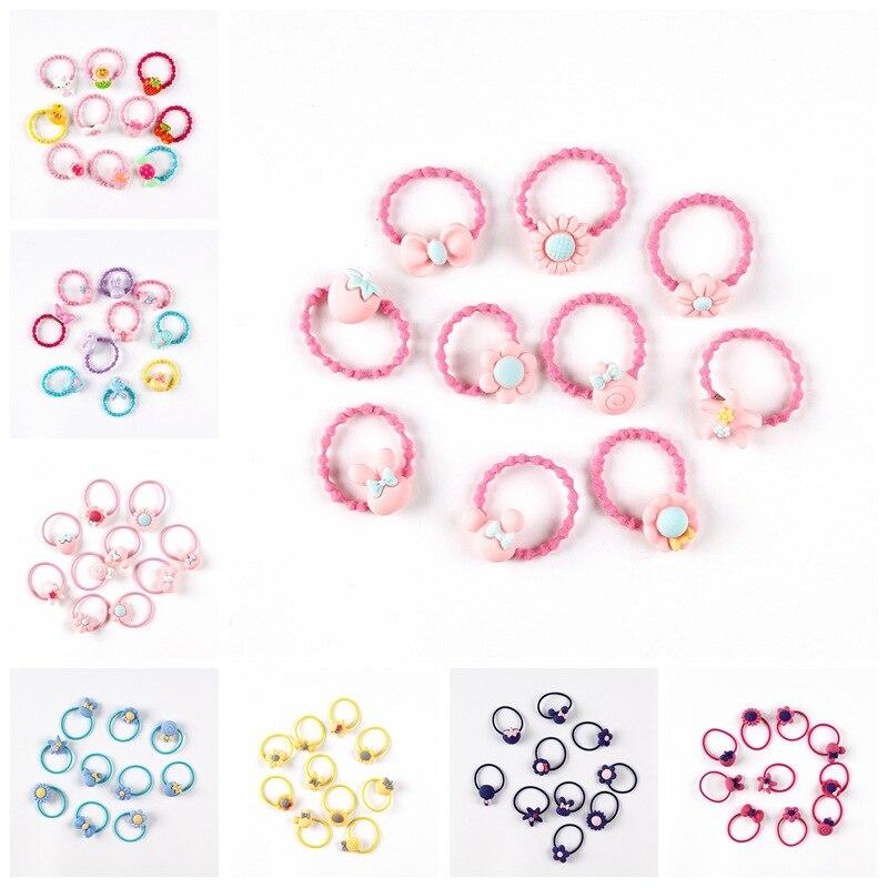 20pcs-set-cute-princess-candy-headwear-kids-baby-headdress-children-hair-ropes-delicate-elastic-hair-band-girls-accessories