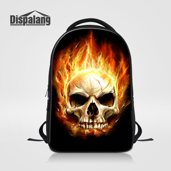 Backpack Cool Skull Printing Casual College School Bags