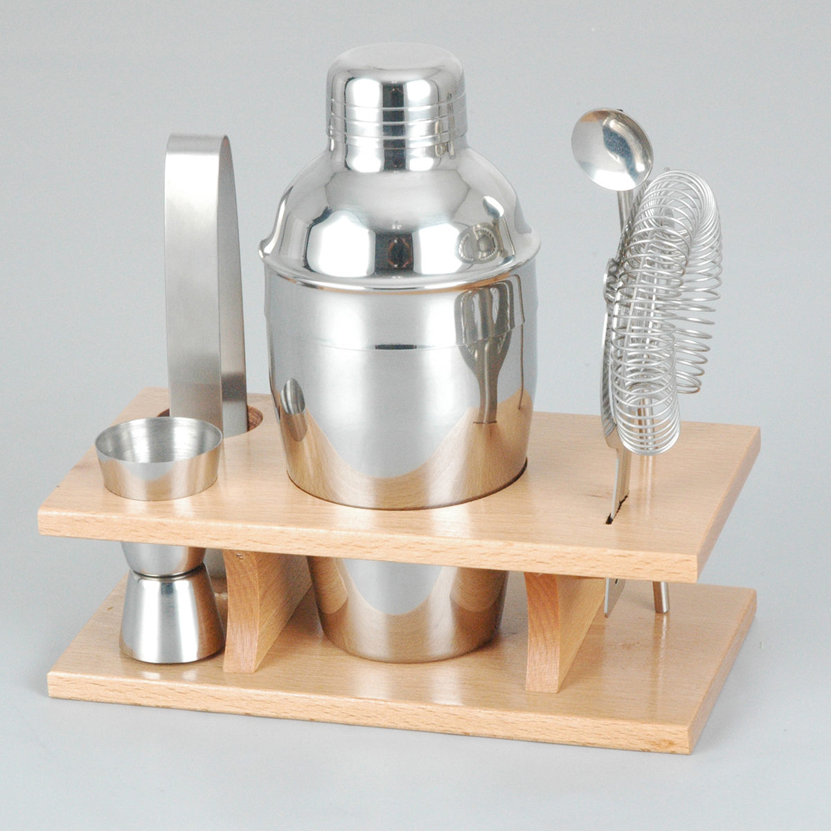 350ml Stainless Steel Cocktail Shaker Mixer Drink Bartender Martini Tools Bar Set Kit Party Bartender Tool