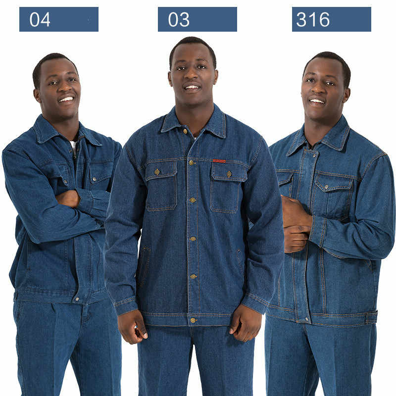 fcb2d4cd9305 Mens Work Clothing Long Sleeve Thicken Coveralls High Quality Overalls for  Worker Repairman Machine Auto Repair