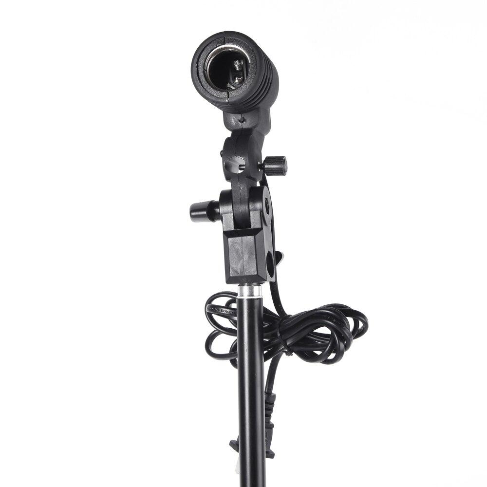 fotografía flash para Estudio Bombilla de Lámpara Individual Soporte E27 Socket