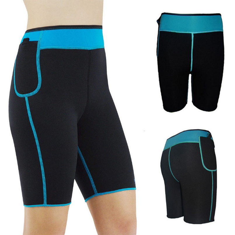 32e8534b73 Womens Slimming Pants Hot Thermo Neoprene Sweat Sauna Body Shapers Fitness  Stretch Control Panties Burne Waist Slim Pants-in Control Panties from  Underwear ...