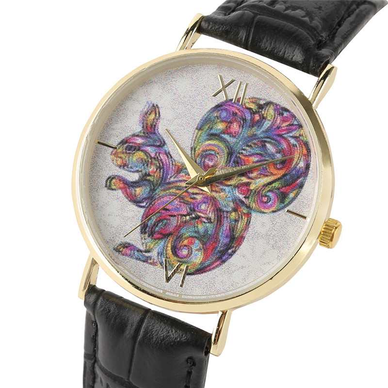 Creative Watches Women Squirrel Hot Fashion Dames van hoge kwaliteit - Dameshorloges
