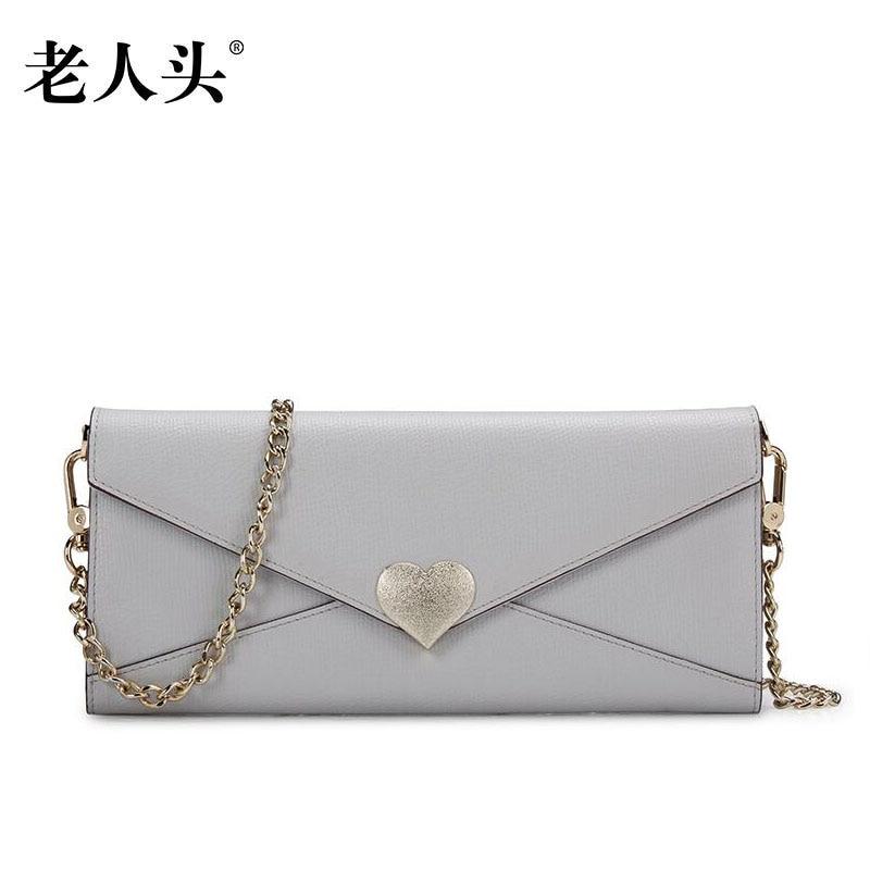 Women bag 2017 new quality women leather bag famous brands fashion envelope clutch bag women leather shoulder bag стоимость