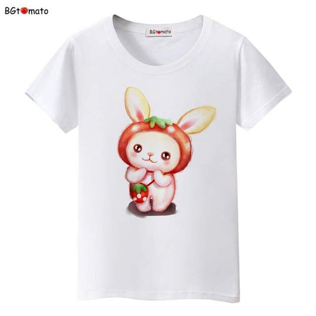 Tienda Online Bgtomato Nueva Kawaii Impreso Mano Dibujar Aabbit