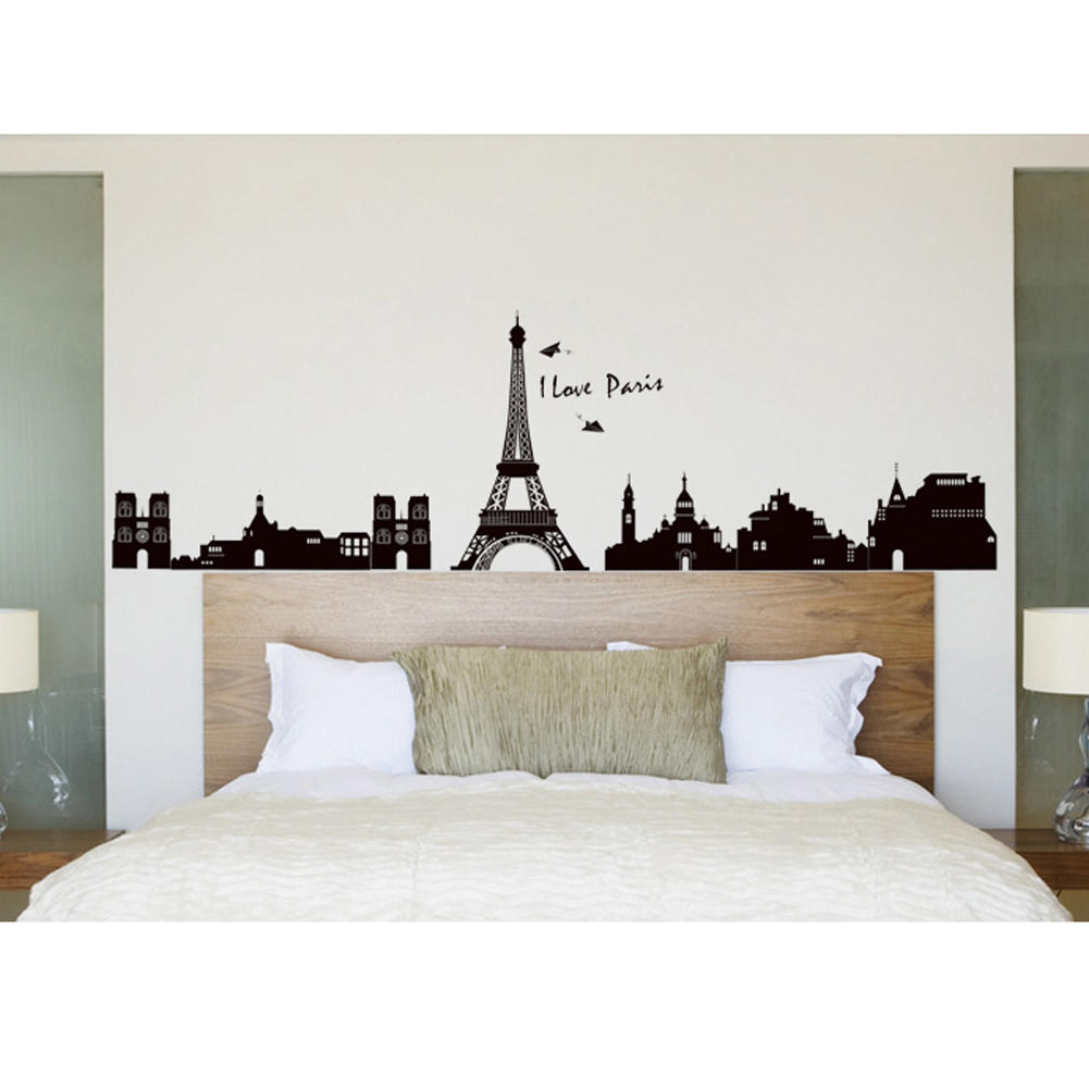 Aliexpress buy vintage paris eiffel tower wall sticker vinyl aliexpress buy vintage paris eiffel tower wall sticker vinyl pvc removable mural decal poster diy art home bedroom living room decoration from amipublicfo Images