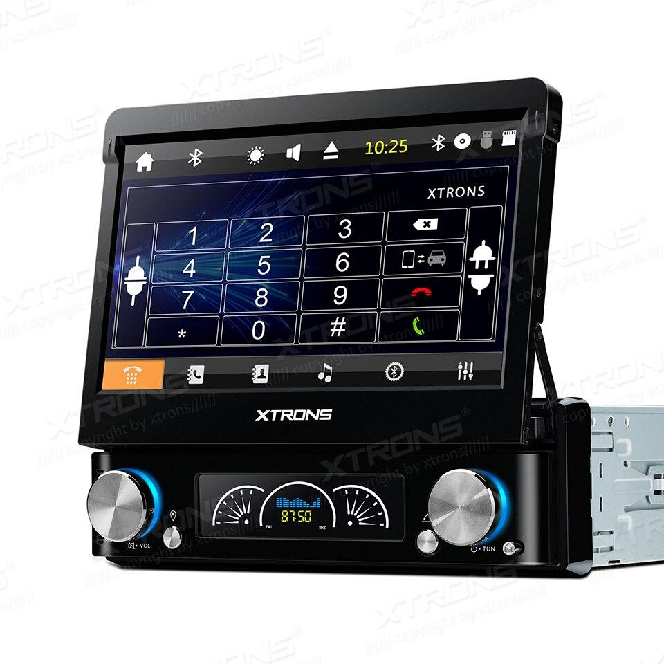 7 Универсальный один 1 один Din автомобильный DVD gps DAB + Радио сенсорный экран Цветная Съемная панель Мультимедиа Bluetooth SD RDS стерео