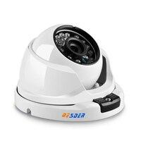 BESDER Wide Angle 2.8mm 720P 960P 1080P PoE CCTV Dome Camera  Indoor Outdoor Vandalproof ONVIF Infrared Metal Case IP camera Surveillance Cameras