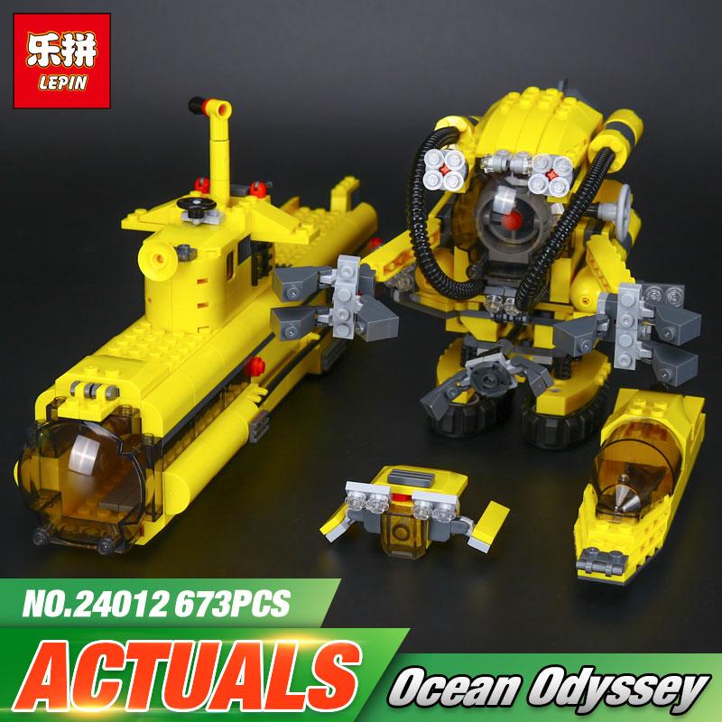 Explora Lepin 24012 Creativo El Submarino Barco Set Niños Educativos Bloques de