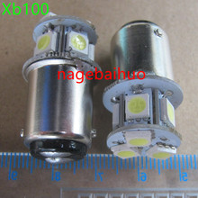 24V B15 LED double contact bayonet lamp light alarm lamp machine warning lamp bulb LED navigation