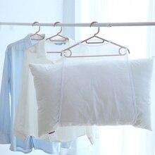 Новая горячая многофункциональная сушилка для подушек сетки висячая сетка Одежда Корзина для кукол плюшевые игрушки ветрозащитный SMD66