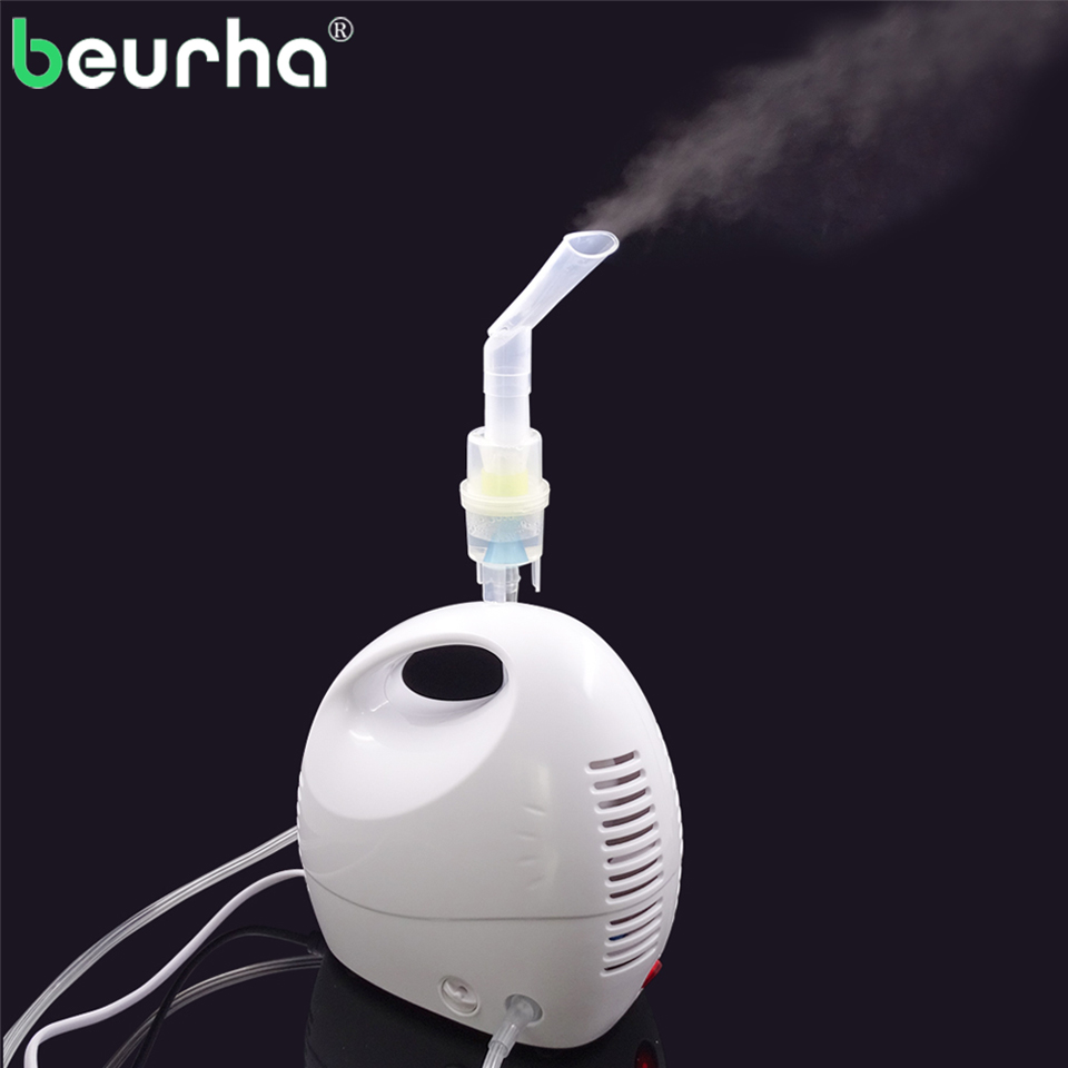 1 Set Mini Household Adult Child Asthma Air Compressor Nebulizer Medical Inhaler Respiratory Ultrasonic Nebulizer Health Care