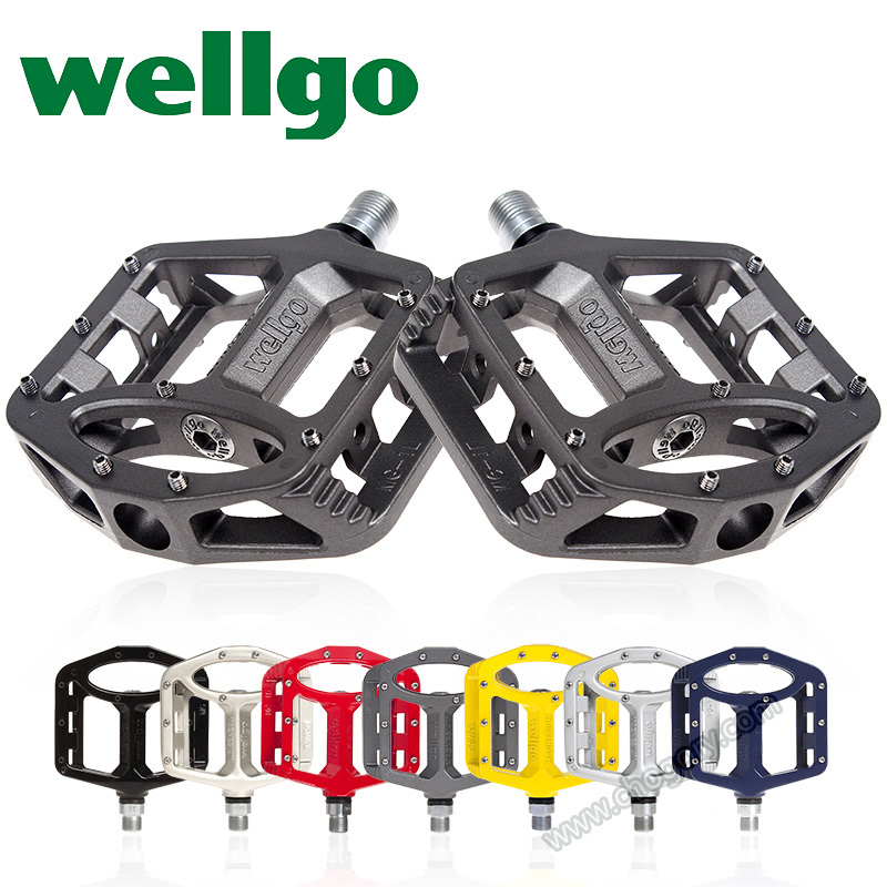 Marque de Haute Qualité En Aluminium BMX Vélo De Route MG-1 MG-2 MG-3 Wellgo Vélo Pédales VTT vtt wellgo Pédales