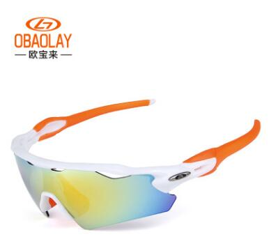 ee2c75e19e Obaolay New 5 Switch Lens Chin Bicycle Polarized Glasses Sports Hiking  Glasses Cycling Sunglasses Men