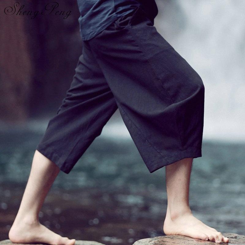 Bruce lee pants shaolin pants kung fu pants traditional chinese clothing chinese clothing store shanghai tang chinese men CC125 chinese clothing care
