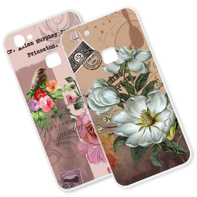 ShuiCaoRen Soft Silicone Phone <font><b>Case</b></font> For <font><b>VIVO</b></font> V7 Plus / Y79 <font><b>3D</b></font> Luxury Relief Flower Shockproof Cover For <font><b>VIVO</b></font> V7 / <font><b>Y69</b></font> Y75 <font><b>Cases</b></font> image