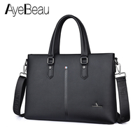 Portable Work Business Office Male Messenger Bag Men Briefcase For Document Laptop Computer 15.6 PC Handbag Portfolio Portafolio