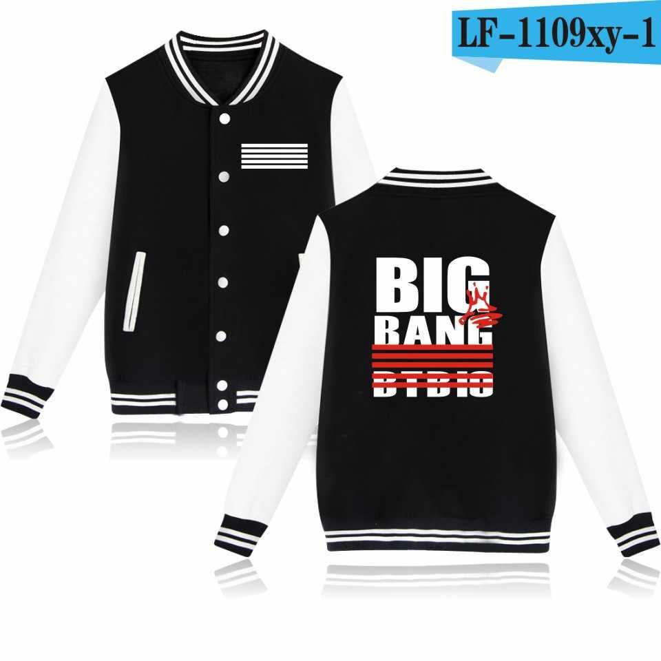 2017 Новый KPOP BIGBANG десять юбилей концерта вокруг Quan Zhilong с бейсбольной формой и костюмом пальто