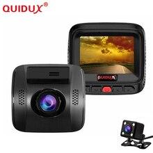 QUIDUX New FHD 1080P Dual Lens 2 0 Novatek 96658 Dash Camera Car DVR Video Camera