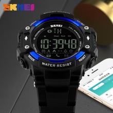 SKMEI Smart Watch Men Outdoor Sports Watches Pedometer Calorie Bluetooth Fitness Tracker 50M Waterproof Wristwatches Smartwatch
