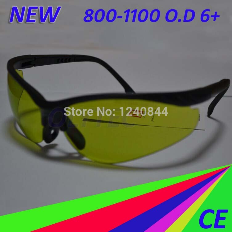 ФОТО Laser Safety Glasses For IR 808nm and 980nm lasers O.D 6+ CE with Sport style frame