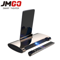 JMGO M6 Mini Projector Led Proyector Android 7.0 Support 4k Video Projetor with WIFI, Bluetooth, HDMI, USB, Laser Pen Beamer