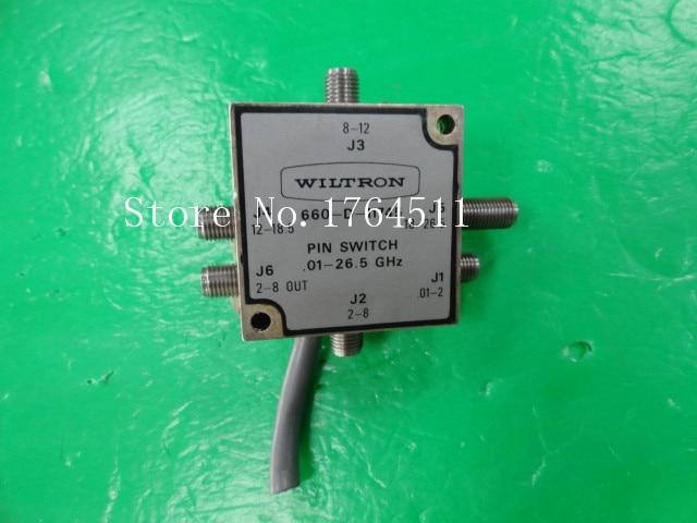 [BELLA] WILTRON 660-D-11745 0.01-26.5GHZ Single Pole Six Throw RF - 29.2mm