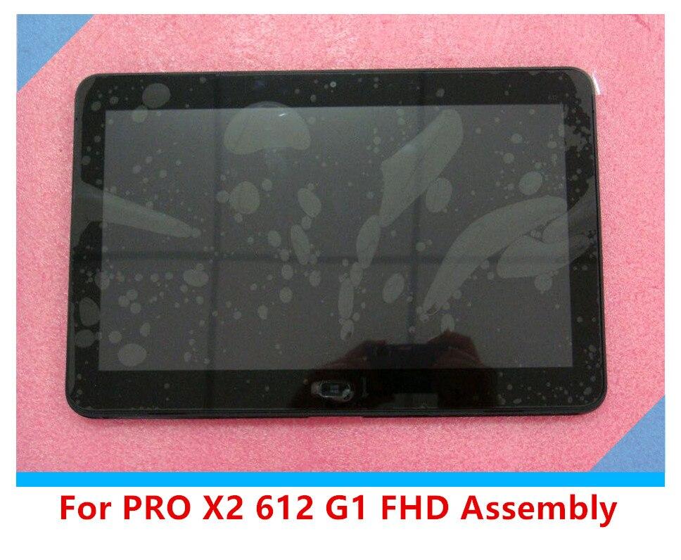 12,5 Al Por Mayor Para For PRO X2 612 G1 K1C54PA Touch + LCD Digitalizador 1920*1080