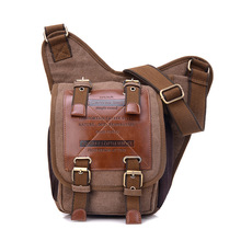 Men High Quality Canvas Messenger bag Man Casual Crossbody Multifunction Travel Bags