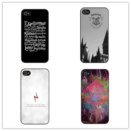 check out f181e 4c363 US $3.37  Harry Potter Magic Spell DIY Custom Printed Mobile Phone Case  Cover for Iphone 4 4s 5 se 5s 5c 6 6 plus 7-in Half-wrapped Case from ...