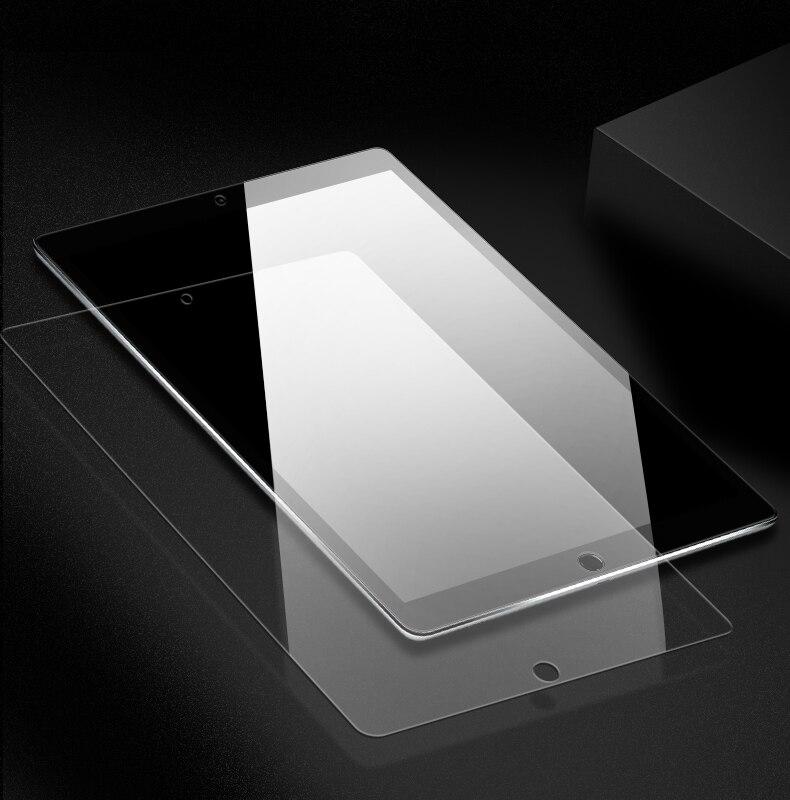 IIRROONN Tempered Glass For Apple IPad 2 3 4 Mini Air 1 2 Mini3 Mini4 2017 2018 Screen Protector Tablet Protective Film Guard