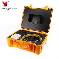 YobangSecurity Труба инспекции Камера Канализационных Инспекции Камера HD 1000 ТВЛ волокно Стекло кабель с 7''Inch цифровой Экран