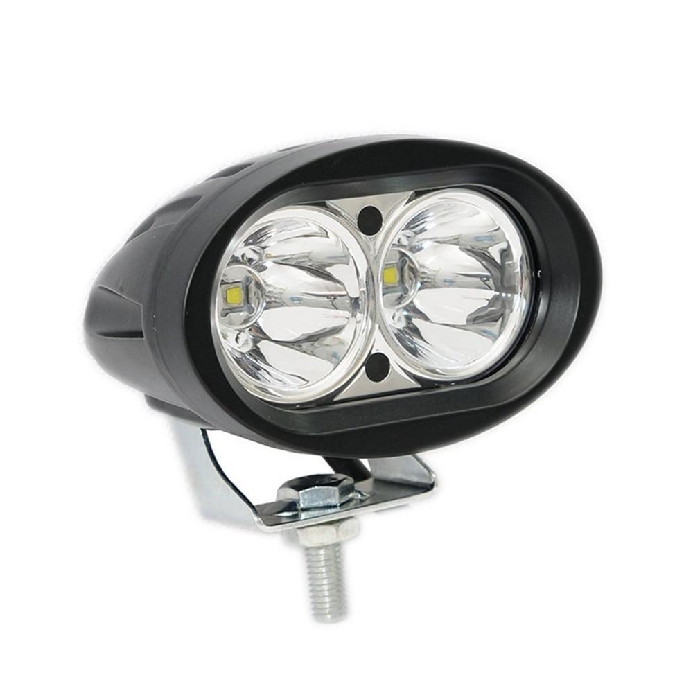 1pcs Super Bright white Motorcycle Spot Light universal LED Headlights Fog Lamp DC 12V 24V Waterproof IP67 6000K 6D lens (2)