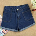 High Waist Denim Shorts New Fashion 2014 Summer Spring Sexy Hot Pants Women's Clothing Trousers Jeans Women Ladies Short