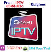 Gratuit français arabe néerlandais Android m3u Smart iptv abonnement serveur premium