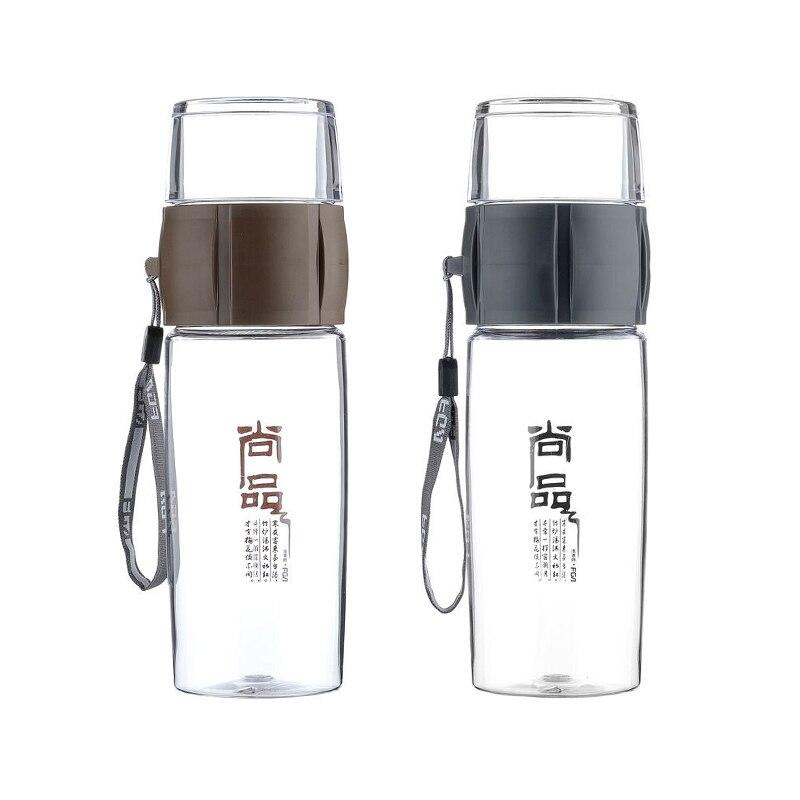 Fuguang 400 мл на открытом воздухе Посуда для напитков BPA бесплатно Пластик бутылки Чай фрукты для заварки бутылка для воды спортивный кемпинг пр...