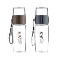 Fuguang 400 ML Outdoors Drinkware Bpa-vrij Plastic Fles Thee Fruit Infuser Waterfles Sport Camping Ruimte Filter Drinken